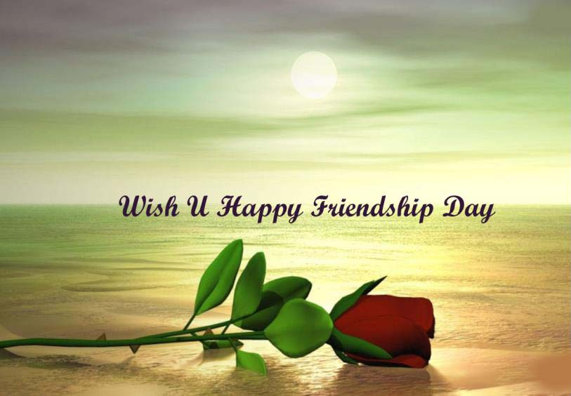 Red Rose Friendship Images 2016