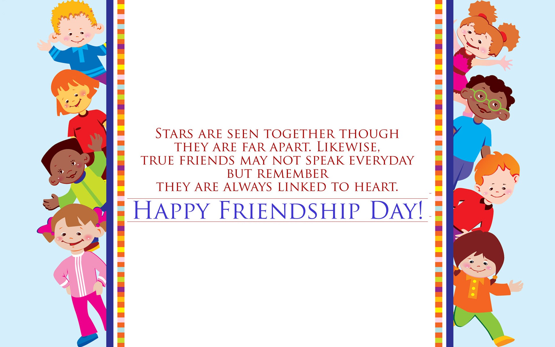 Friendship Day Wallpapers 2016