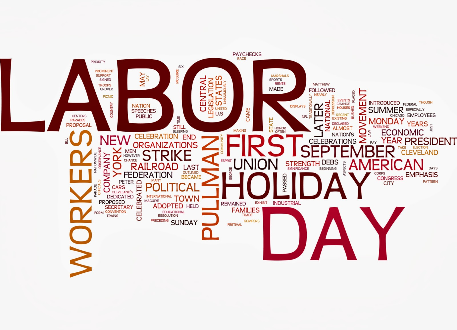 labor day images cartoon