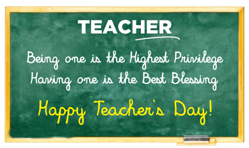 World Teachers Day Pics 2016