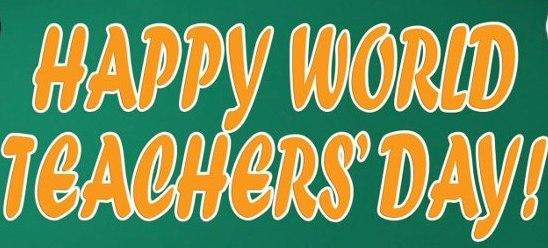 Happy World Teachers Day 2016
